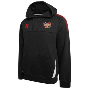 Gwersyllt Park Cricket Club - Blade Dual Hoodie - Red/Black