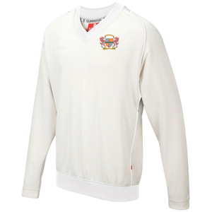 Gwersyllt Park Cricket Club - Cricket Jumper Long Sleeved