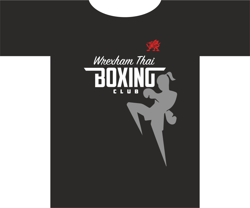 Wrexham Thai Boxing Short Sleeved T-Shirt
