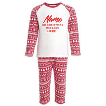 Personalised Red Christmas Inspired Pyjama's