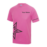 Dancing Gemz Short Sleeve Breathable T-Shirt