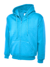 Adults Classic Full Zip Hooded Sweatshirt