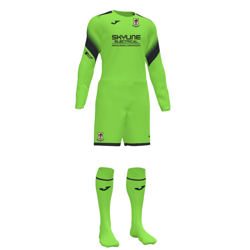Saltney Town GK Kit (Juniors)