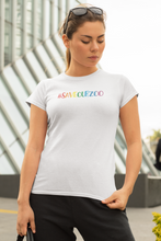 SaveOurZoo - Female Fit T-Shirt - #SaveOurZoo