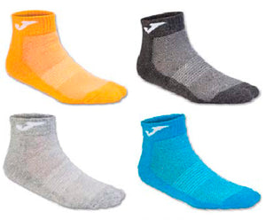 JOMA ANKLE SOCKS MIX ORAN-ANTH-GREY-ROY -PACK 12 PRS-