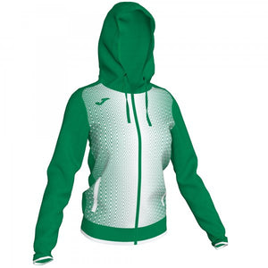 JOMA CAMPUS III HOODED SWEATSHIRT GREEN WOMAN