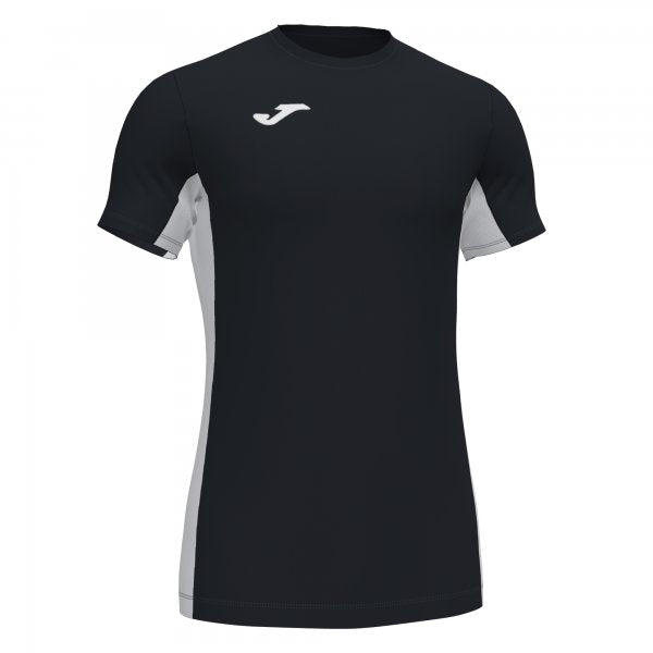 JOMA SUPERLIGA T-SHIRT BLACK-WHITE S/S