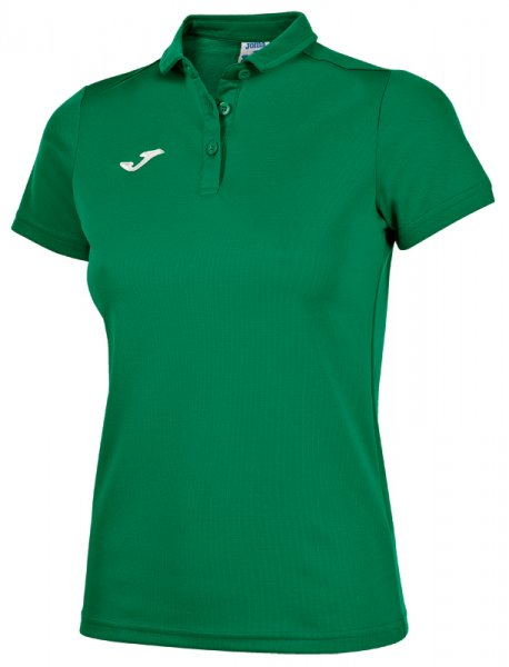JOMA HOBBY WOMEN POLO SHIRT GREEN MEDIUM S/S