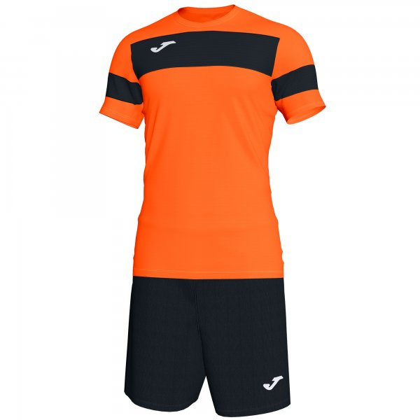 JOMA SET ACADEMY II ORANGE-BLACK S/S