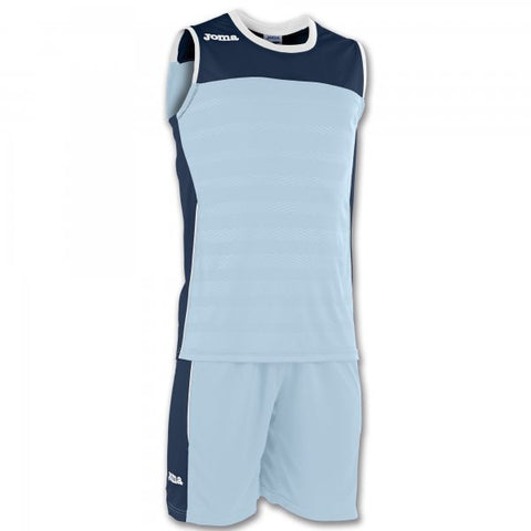 JOMA SET SPACE II SKYBLUE-NAVY SLEEVELESS