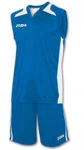 JOMA SET CANCHA ROYAL JERSEYSHORT