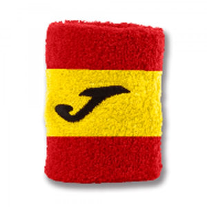 JOMA WRISTBAND RED-YELLOW-RED -PACK 24-