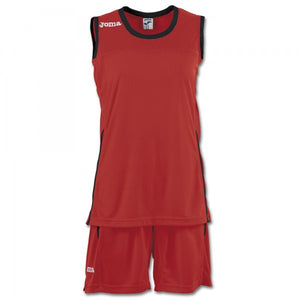 JOMA SET SPACE II WOMAN RED SLEEVELESS