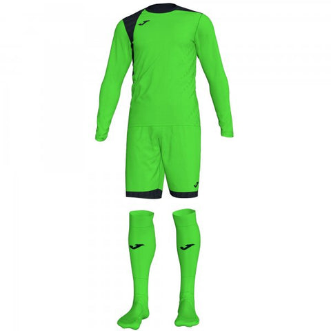 JOMA ZAMORA IV GOALKEEPER SET FLUOR GREEN L/S