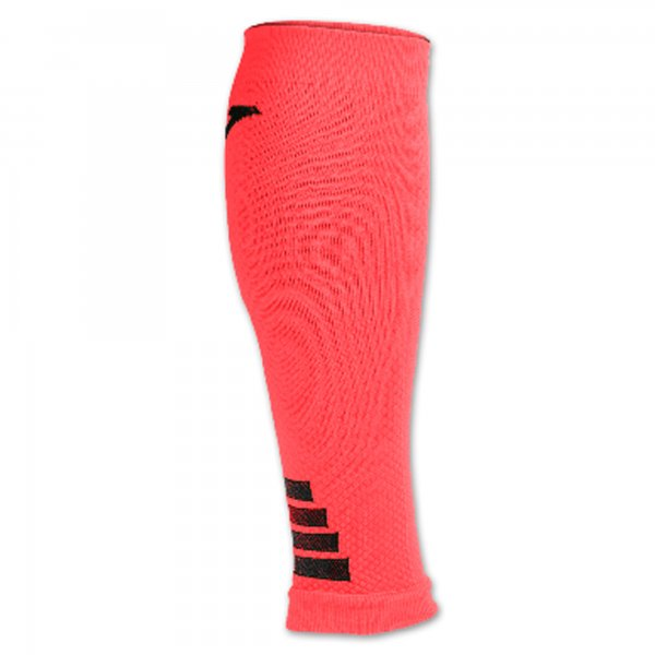 JOMA LEG COMPRESSION SLEEVES CORAL FLUOR -PACK 12-