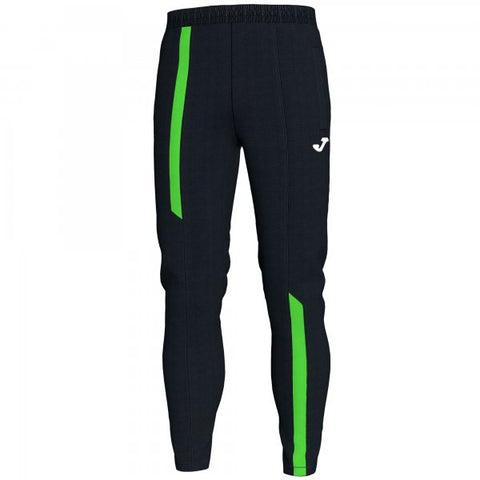 JOMA LONG PANT CAMPUS III BLACK-FLUOR GREEN