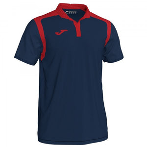 JOMA POLO CHAMPION V DARK NAVY-RED S/S
