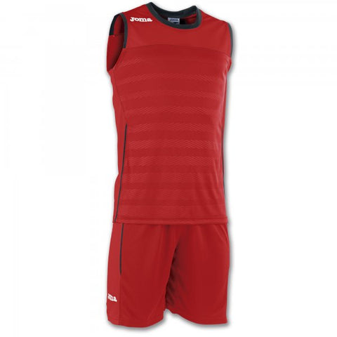JOMA SET SPACE II RED SLEEVELESS