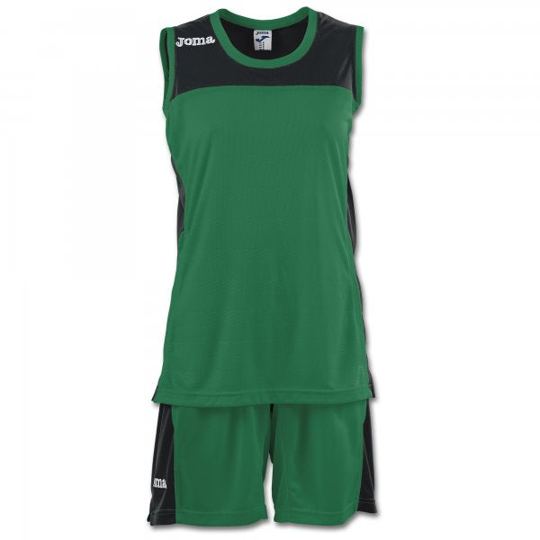 JOMA SET SPACE II WOMAN GREEN SLEEVELESS