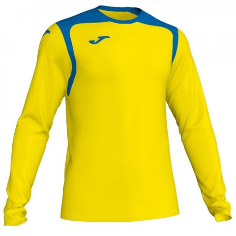 JOMA T-SHIRT CHAMPION V YELLOW-ROYAL L/S