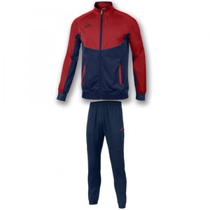 JOMA TRACKSUIT ESSENTIAL MICRO NAVY-RED