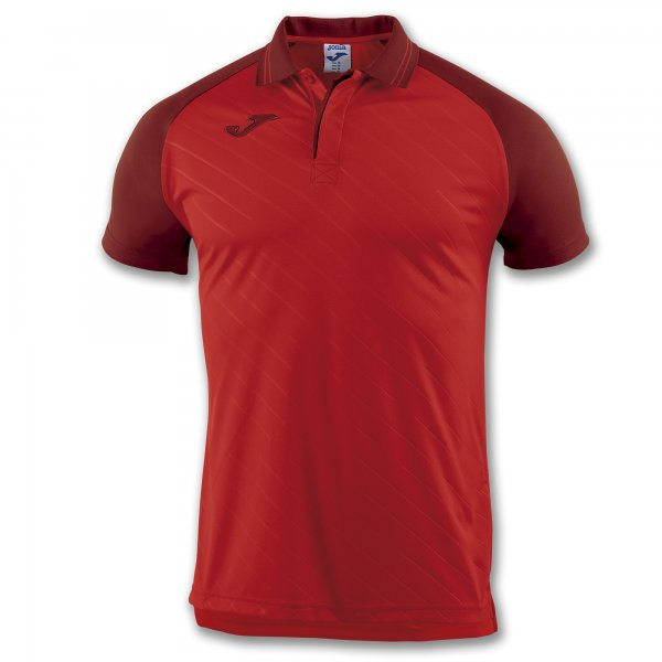 JOMA POLO TORNEO II RED S/S