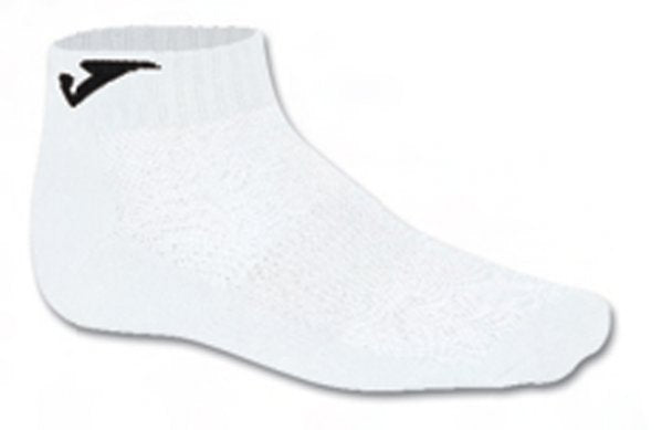 JOMA ANKLE SOCK WHITE -PACK 12 PRS-