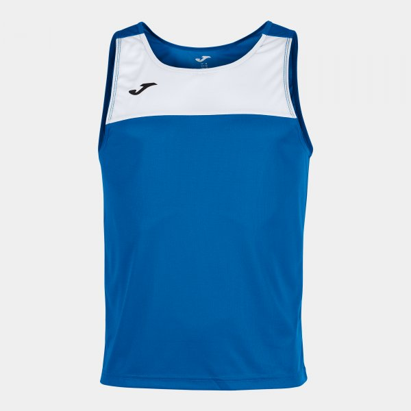 JOMA SLEEVELESS T-SHIRT WITH ROUND COLLAR AND MICRO-MESH TECHNOLOGY IMPROVING BREATHABILITY FOR THE SPORTSPERSON.