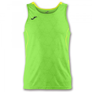 JOMA T-SHIRT OLIMPIA GREEN-YELLOW SLEEVELESS