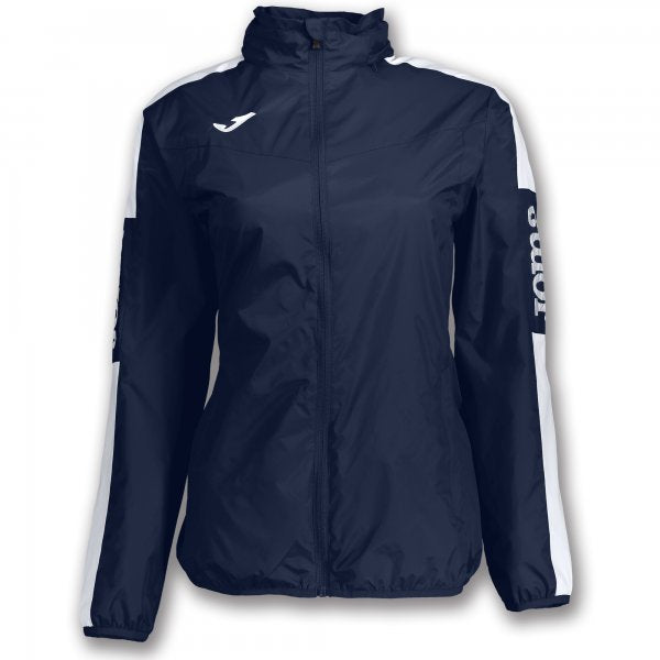 JOMA RAINJACKET CHAMPION IV NAVY-WHITE WOMAN