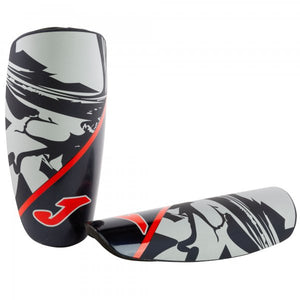 JOMA SHINGUARDS SPARTAN BLACK-RED-SILVER