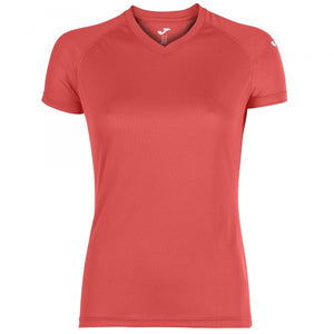 JOMA EVENT T-SHIRT CORAL FLUOR S/S WOMAN PACK 25