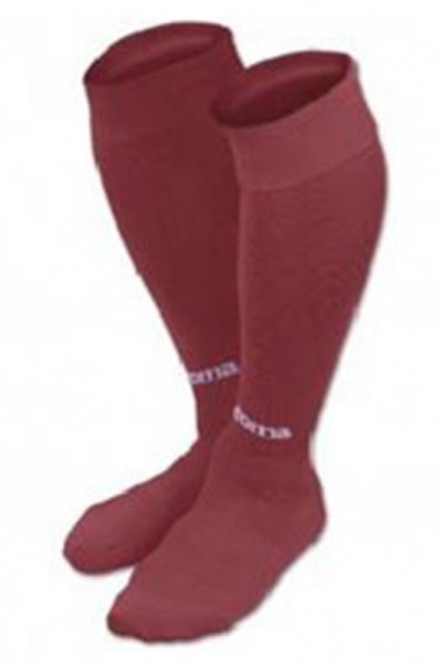 JOMA FOOTBALL SOCKS CLASSIC II  BURGUNDY -PACK 4-