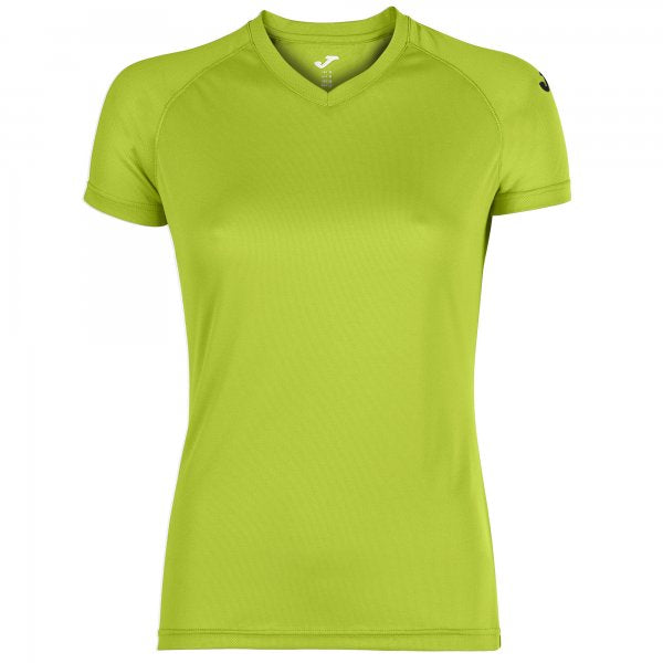 JOMA EVENT T-SHIRT LIME S/S WOMAN PACK 25