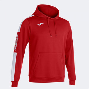 JOMA CHAMPIONSHIP IV HOODIE RED WHITE