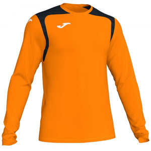 JOMA T-SHIRT CHAMPION V ORANGE-BLACK L/S
