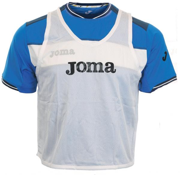 JOMA TRAINING BIBS 905.100 WHITE -PACK 10-
