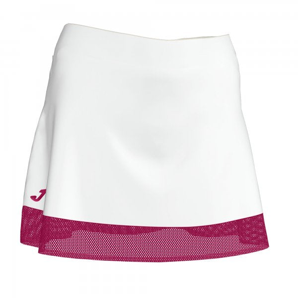 JOMA SKIRT AURORA WHITE-FUCHSIA WOMAN