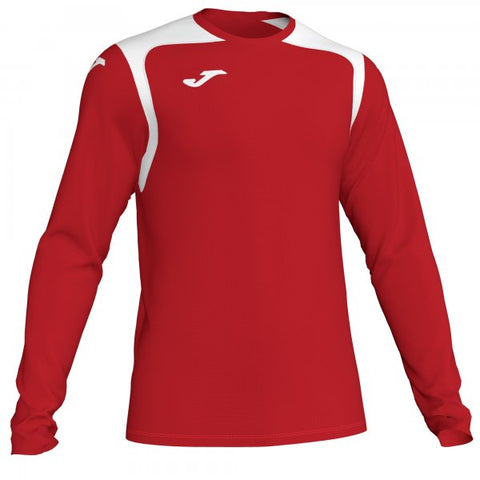 JOMA T-SHIRT CHAMPION V RED-WHITE L/S