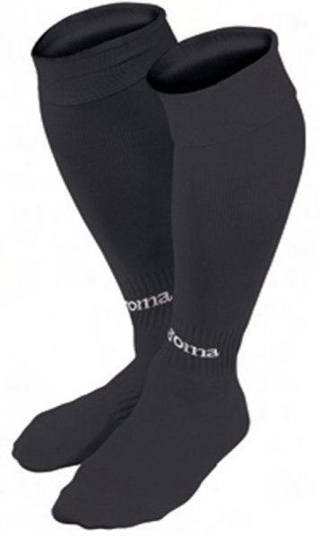 JOMA FOOTBALL SOCKS CLASSIC II BLACK -PACK 4-