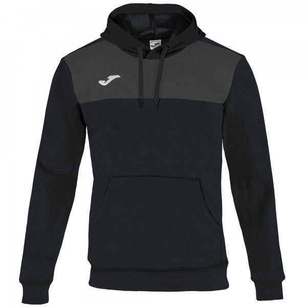 JOMA HOODIE SWEATSHIRT WINNER COTTON BLACK-ANTHRACITE
