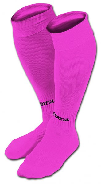 JOMA FOOTBALL SOCKS CLASSIC II FUCSIA -PACK 4-
