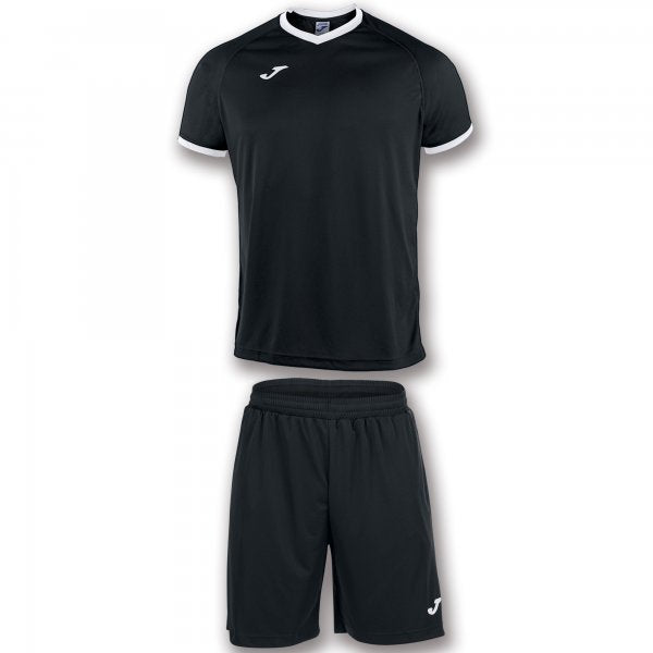 JOMA SET ACADEMY BLACK-WHITE S/S