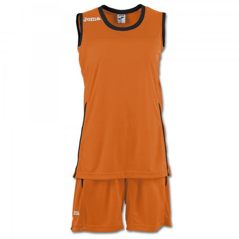 JOMA SET SPACE II WOMAN ORANGE SLEEVELESS