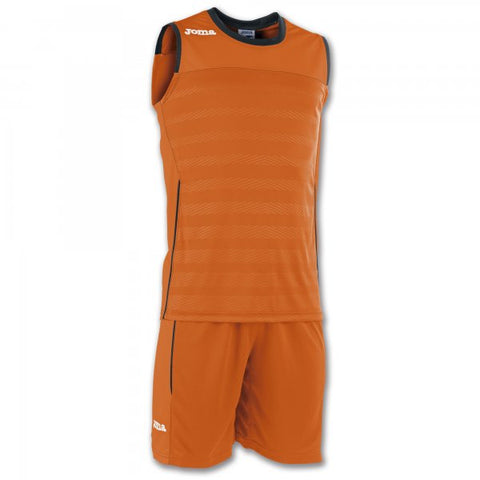 JOMA SET SPACE II ORANGE SLEEVELESS