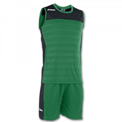 JOMA SET SPACE II GREEN SLEEVELESS