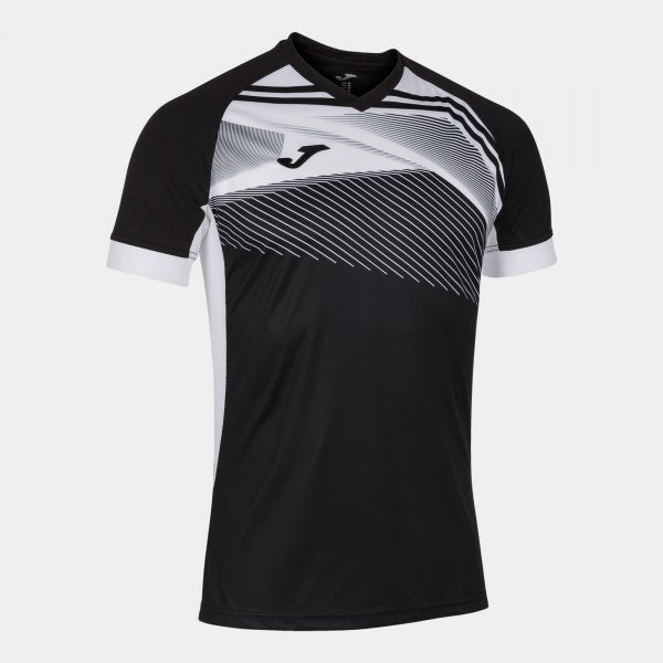 JOMA SUPERNOVA II T-SHIRT BLACK-WHITE S/S