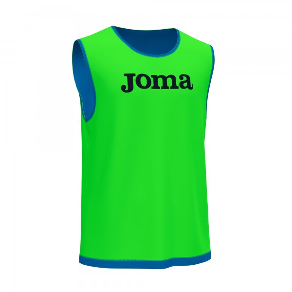 JOMA MYSKIN ACADEMY II TRAINING BIBS FLUOR GREEN ROYAL