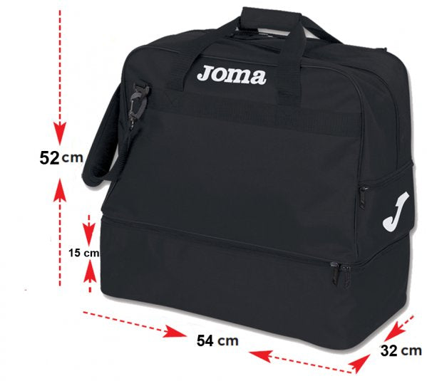 JOMA BAG TRAINING III BLACK -XTRA-LARGE-