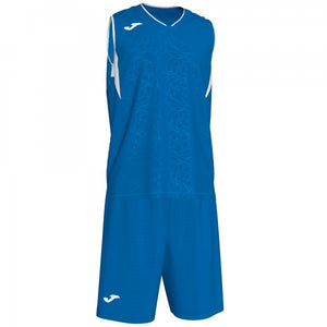 JOMA CAMPUS SET BASKET ROYAL-WHITE SLEEVELES